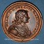 Münzen Lorraine. Nicolas François (1634) et Claude de Lorraine. Médaille en bronze