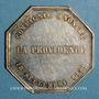 Münzen Assurances. La Providence. Assurance incendie 1838. Jeton argent. Poinçon: abeille