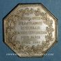 Münzen Assurances. Paris, Mutuelle Incendie (M.A.C.I) 1817. Jeton argent. Poinçon /