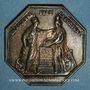 Münzen Banque de France. Jeton argent, an VIII