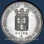 Münzen Bar-le-Duc (55). Brasserie de la Croix de Lorraine. Jeton publicitaire aluminium
