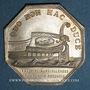 Münzen Bordeaux. Chambre de Commerce et industrie. Jeton argent