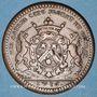 Münzen Bourgogne. Mairie de Dijon. E. Baudinet. Jeton cuivre 1716