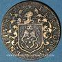Münzen Bourgogne. Mairie de Dijon. E. Humbert. Jeton cuivre 1628