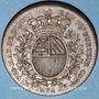 Münzen Bourgogne. Mairie de Dijon. J. Burteur. Jeton cuivre 1739