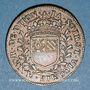 Münzen Bourgogne. Mairie de Dijon. Jacques Soirot. Jeton cuivre 1654