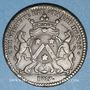 Münzen Bourgogne. Mairie de Dijon. M. Baudinet. Jeton cuivre 1727
