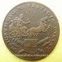 Münzen Bourgogne. Mairie de Dijon. P. Monin. Jeton cuivre 1676