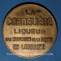 Münzen Bourmont (52). Gury - Rousselot. La Cordelière, liqueur des Chanoines de la Mothe en Lorraine, jeton
