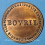 Münzen Bovril. Jeton publicitaire