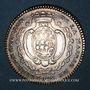 Münzen Bretagne. Mairie de Nantes. Gelée de Premion. Jeton argent 1754