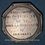 Münzen Caisse d'Escompte du Commerce. Jeton argent (1797)