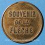 Münzen Cordier. Grande loterie à 5 cmes. Jeton publicitaire en bronze