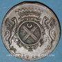 Münzen Etats de Bourgogne. Claude de Vitte, maître ordinaire à la Chambre des Comptes. Jeton cuivre 1710