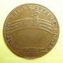 Münzen Etats de Bourgogne. Jeton cuivre 1682
