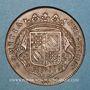Münzen Etats de Bourgogne. Jeton cuivre 1713