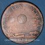 Münzen Etats de Bourgogne. Jeton cuivre 1715