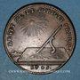 Münzen Etats de Bourgogne. Jeton cuivre 1725