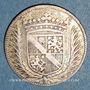 Münzen Forez. Gaspard Hérail de Pierrefort, comte de la Roue et Claude de Talaru-Chalmazel. Jeton argent
