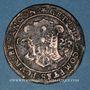 Münzen Franche-Comté. Besançon. Chambre des comptes. Ferdinand II. Jeton cuivre 1627