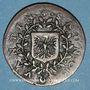 Münzen Franche-Comté - Besançon. Jeton de bannière de Saint-Quentin, 1623