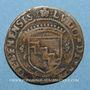 Münzen Franche-Comté. Louis de Rye de Balançon, abbé de Saint-Claude, évêque de Genève. Jeton cuivre 1547