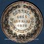 Münzen Institut industriel agronomique et commercial du Nord de la France 1875, jeton argent, rond 37,8 mm