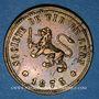 Münzen Lyon (69), Société de Tir de Lyon, 1873, jeton laiton