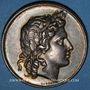 Münzen Lyon. Académie. Jeton argent 1828. Poinçon : abeille