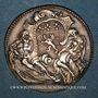 Münzen Lyon. Académie Littéraire. Jeton argent 1749