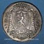 Münzen Lyon. Agents de change. Jeton argent 1773