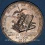 Münzen Lyon. Agents de change. Jeton argent 1816