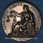 Münzen Lyon. Avoués près le Tribunal de 1ère Instance. Jeton argent 1851. Sans poinçon