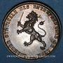 Münzen Lyon. Chambre syndicale des entrepreneurs. Jeton argent