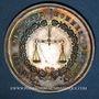 Münzen Lyon. Conseil des Prud'hommes. Jeton argent 1818. Sans poinçon