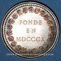 Münzen Lyon. Mont de Piété. Jeton argent. Poinçon : abeille
