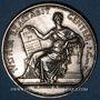 Münzen Lyon. Tribunal de commerce. Jeton argent 1847. Poinçon : main indicatrice
