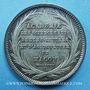 Münzen Mâcon, Académie des Sciences - Arts-Belles-Lettres et Agriculture, jeton argent