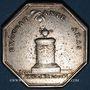 Münzen Normandie. Clergé de Rouen. de la Rochefoucauld, archevêque. Jeton argent 1778