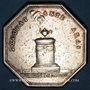 Münzen Normandie. Clergé de Rouen. de la Rochefoucauld, archevêque. Jeton argent n. d.