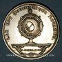 Münzen Notaires. Saint-Etienne. Jeton argent 1886. Poinçon : corne d'abondance