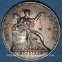 Münzen Notaires. Villefranche. Jeton argent 1825. Sans poinçon