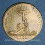 Münzen Ordinaire des Guerres. Louis XV (1715-1174). Jeton laiton 1715
