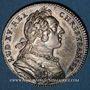 Münzen Paris. Assemblée du Clergé de France. Louis XV. Jeton argent 1748