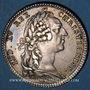 Münzen Paris. Assemblée du Clergé de France. Louis XV. Jeton argent 1762