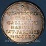 Münzen Paris. Assemblée du Clergé de France. Louis XV. Jeton argent 1765