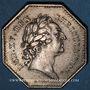 Münzen Paris. Assemblée du Clergé de France. Louis XV. Jeton argent 1772