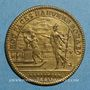 Münzen Paris. Bâtiments du Roi. Louis XIV. Jeton cuivre n. d.