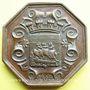 Münzen Paris, Chambre syndicale des entrepreneurs de couverture, jeton cuivre, 1846