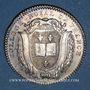 Münzen Paris. Collège Royal de France. Louis XVI. Jeton argent